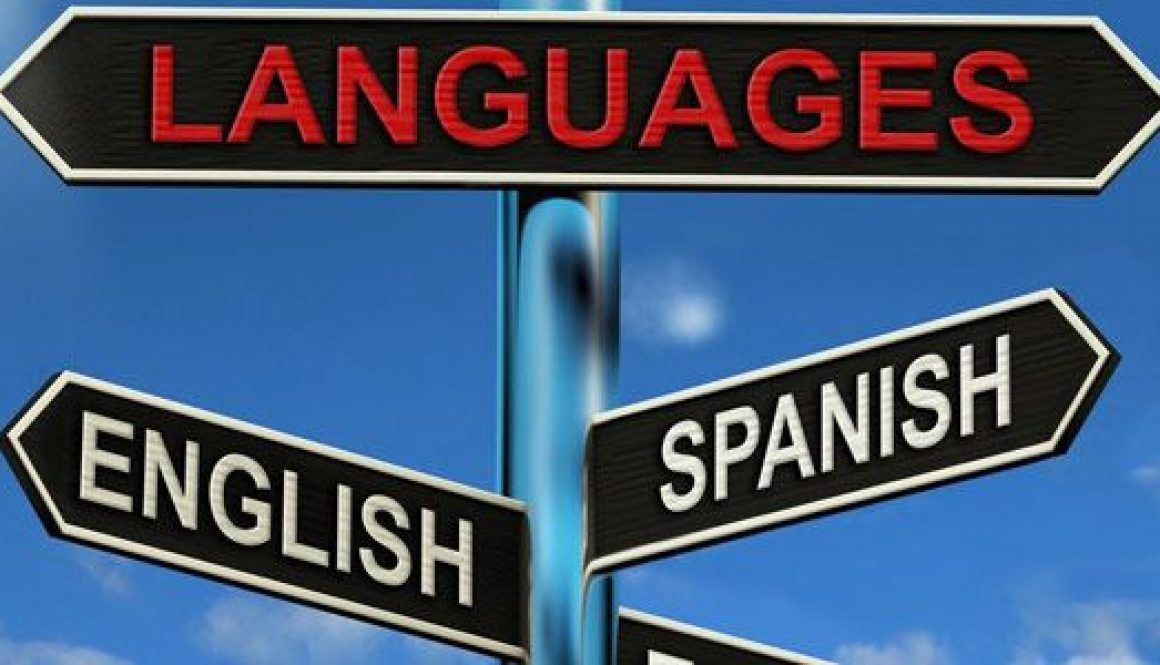 You know you're half English, half Spanish when…