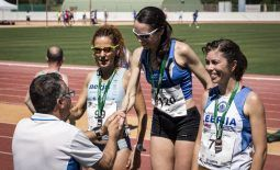 Running in 40º C weather! (Andalusian Masters Track Championships)